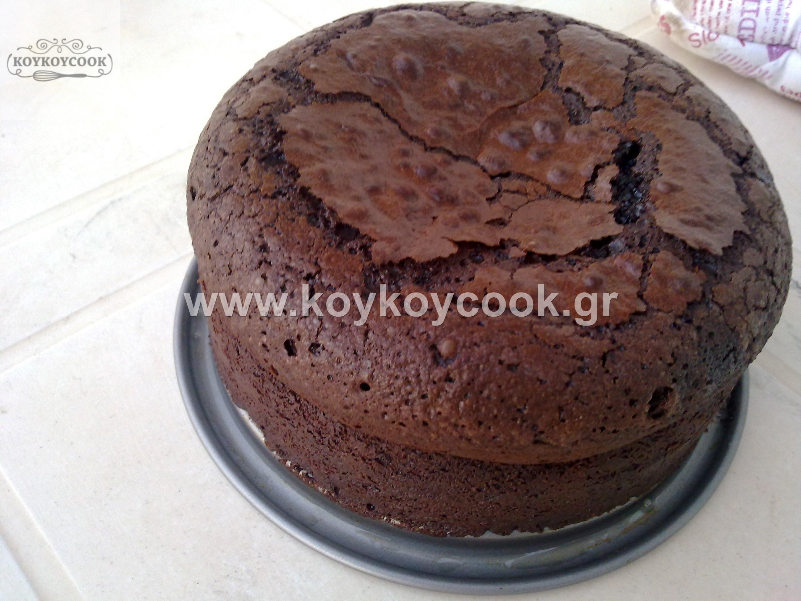 CHOCOLATE FUDGE CAKE ΧΩΡΙΣ ΑΛΕΥΡΙ (GLUTEN FREE)