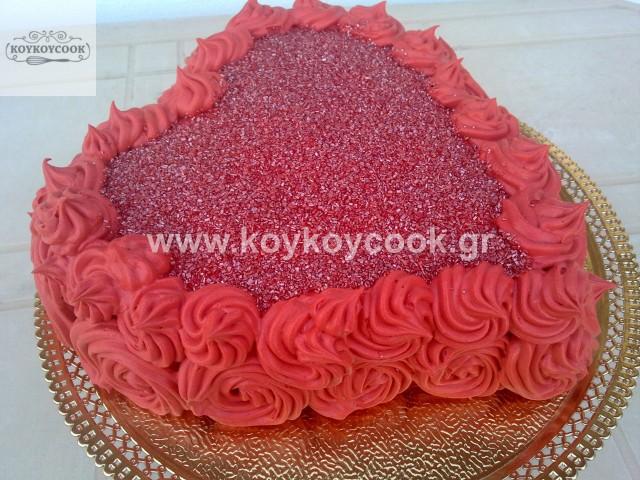 RED VELVET CAKE ΚΑΡΔΙΑ