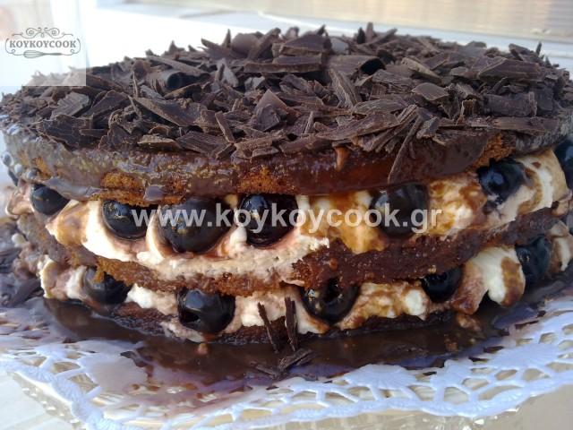 ΜΠΛΑΚ ΦΟΡΕΣΤ CHOCOLATE NAKED CAKE